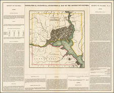 Mid-Atlantic and Washington, D.C. Map By Henry Charles Carey  &  Isaac Lea