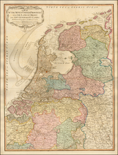 Netherlands Map By William Faden