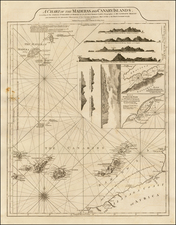 African Islands, including Madagascar Map By Richard Holmes Laurie  &  James Whittle