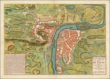 Czech Republic & Slovakia Map By Georges Louis Le Rouge