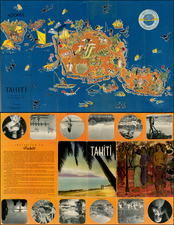 Other Pacific Islands and Pictorial Maps Map By Le Syndicat d'Initiative de Tahiti