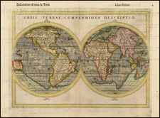 World and World Map By Giuseppe Rosaccio
