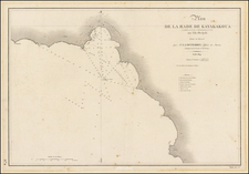 Hawaii and Hawaii Map By L.I. Duperrey