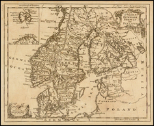 Scandinavia Map By Thomas Jefferys