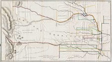 Plains, Southwest and Rocky Mountains Map By Col. Henry P. Dodge  &  Enoch Steen
