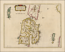 Scotland Map By Johannes et Cornelis Blaeu