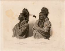 Portraits & People Map By Karl Bodmer