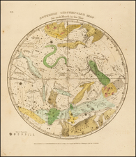 Celestial Maps Map By Elijah J. Burritt