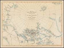 Polar Maps and Canada Map By Royal Geographical Society