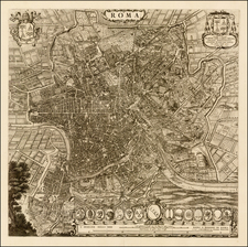 Italy Map By Willem Janszoon Blaeu / Cornelis Mortier