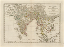 India and Southeast Asia Map By Samuel Dunn