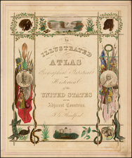 Title Pages Map By Thomas Gamaliel Bradford