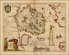 Denmark Map By Moses Pitt