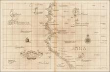 South America and Peru & Ecuador Map By Robert Dudley