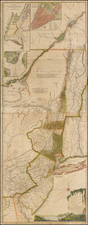 New England, Mid-Atlantic and Canada Map By Sayer & Bennett