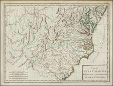 Southeast Map By Pierre Antoine Tardieu