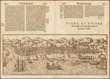 India Map By Francois De Belleforest