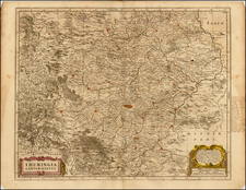 Germany Map By Moses Pitt