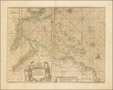 Indian Ocean, India, Other Islands, Central Asia & Caucasus, South Africa, East Africa and African Islands, including Madagascar Map By Mount & Page / John Thornton