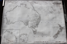 Australia and New Zealand Map By James Imray & Son