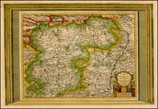 Map By Pieter van der Aa