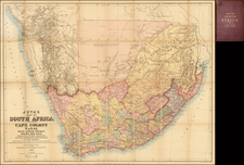 South Africa Map By Edward Stanford / J.C. Juta