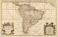 South America Map By Alexis-Hubert Jaillot