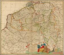 Map By Justus Danckerts