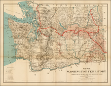 Map By Flemming, Brewster & Alley