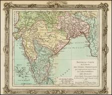 India Map By Louis Brion de la Tour