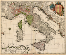 Italy Map By Tobias Conrad Lotter
