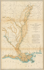 South and Midwest Map By United States War Dept. / Bowen & Co.