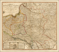 Poland Map By William Faden