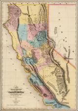 California Map By Charles Drayton Gibbes