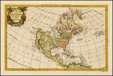 North America Map By George Rollos