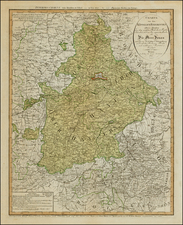 Germany Map By Weimar Geographische Institut
