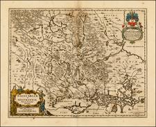 Scandinavia Map By Moses Pitt