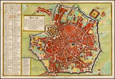 Italy Map By Nicolas de Fer