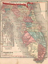 Southeast Map By Sidney Morse  &  Samuel Gaston