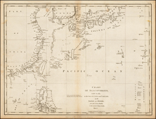 China, Korea, Southeast Asia, Philippines and Russia in Asia Map By Jean Francois Galaup de La Perouse