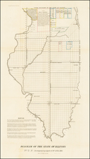 Midwest Map By U.S. General Land Office