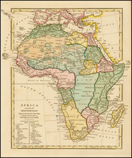 Africa Map By Robert Wilkinson