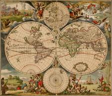 World and World Map By Justus Danckerts