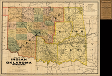 Plains and Southwest Map By Rand McNally & Company