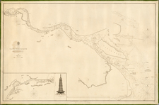 China Map By British Admiralty
