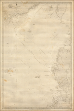 China and Philippines Map By British Admiralty