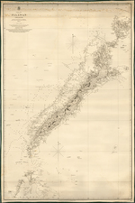 Philippines Map By British Admiralty