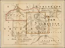 Southwest Map By United States Bureau of Indian Affairs