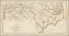 Southeast and North Carolina Map By John Stockdale