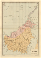 Southeast Asia and Other Islands Map By Edward Stanford